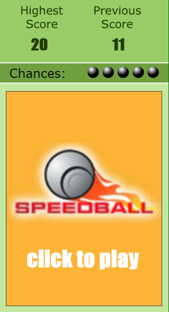 600147333 - Speedball