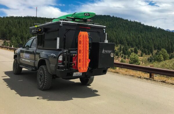 project m truck camper is suitable for all beds including the jeep gladiator 1 600x393 - Туристические минидома на колесах